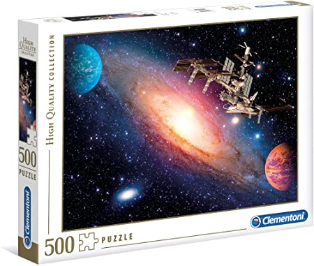 Clementoni 35075 HQC 500pc Puzzle-International Space Station