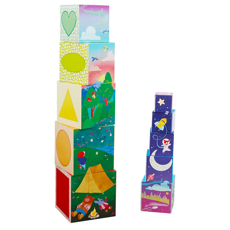 Educational Insights Bright Basics Nest Stack Cubes