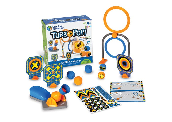 Learning Resources TurboPop! STEM Challenge