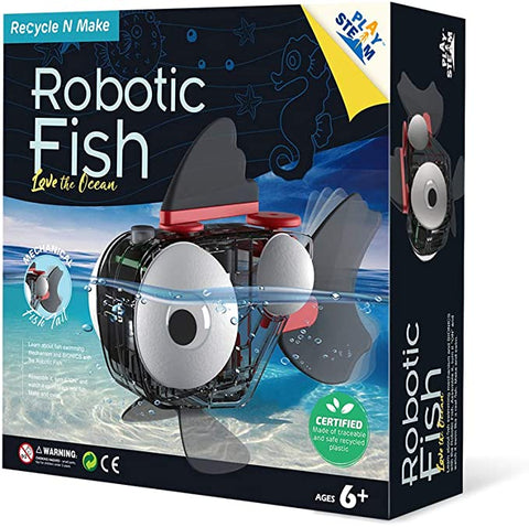 PlaySTEAM Swimming Robotic Fish