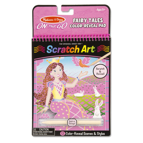 Melissa &  Doug On the Go Scratch Art Color Reveal Pads