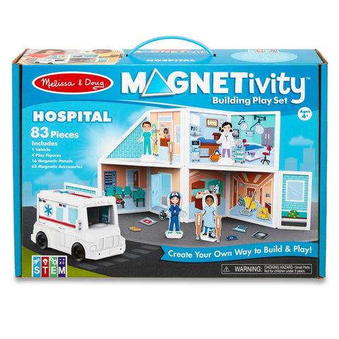 Melissa & Doug Magnetivity- Hospital