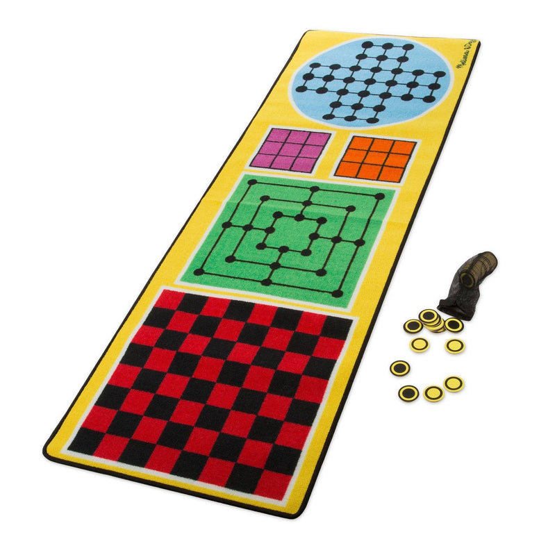 Melissa & Doug 4 in 1 Game Rug
