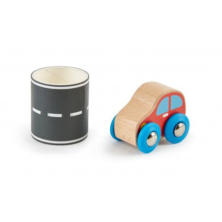 Hape Tape & Roll Car