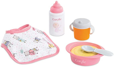 Corolle Mealtime Set for 12-inch Baby Doll