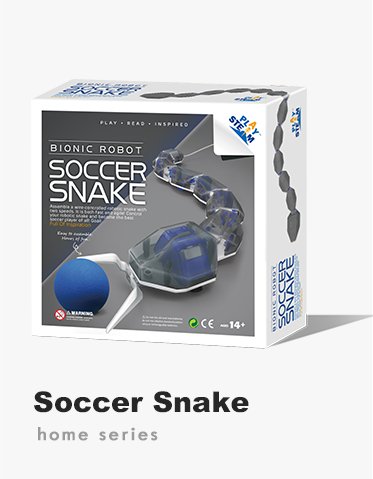 PlaySTEAM Bionic Robot Soccer Snake