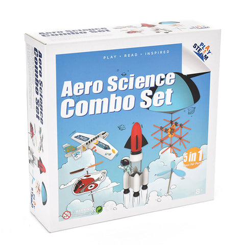 PlaySTEAM Aero Science Combo Set (5 in 1)