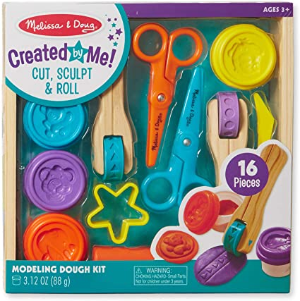 Melissa & Doug Created by Me! Cut, Sculpt, & Roll
