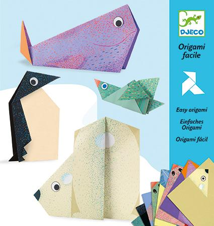 DJECO Petit Gifts Origami Polar Animals