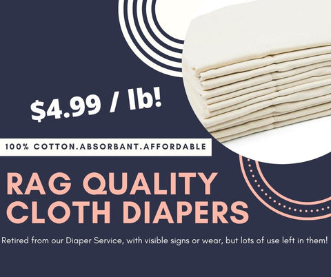 Rag Quality Cloth Diapers