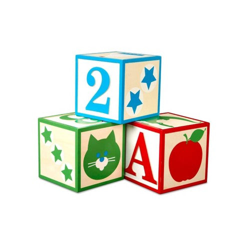 Melissa & Doug Jumbo ABC-123 Blocks