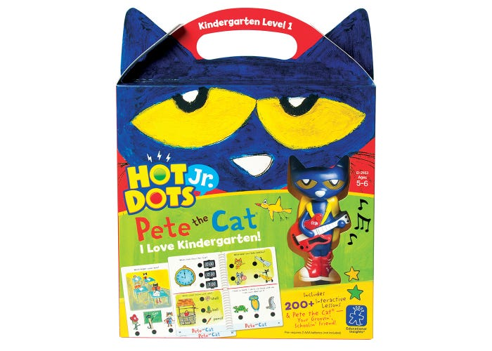 Hot Dots® Jr. Pete the Cat® I Love Kindergarten! Set with Pete the Cat®—Your Groovin', Schoolin', Friend Pen