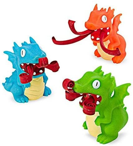 Schylling Curly Pop Dragon- Fire Breathers