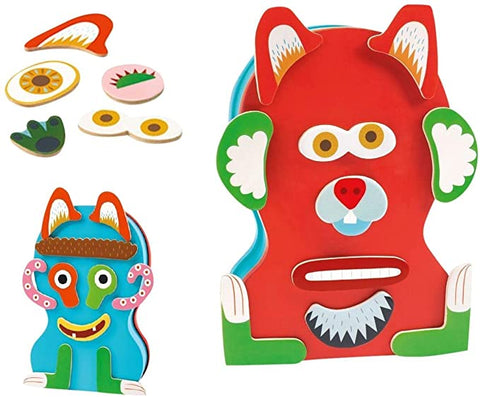 DJECO Monstro In Ze Box Magnetic Activity Set