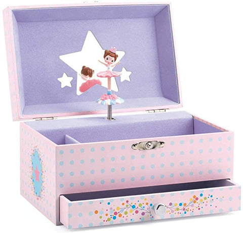DJECO Musical Jewelry Box- Ballerina
