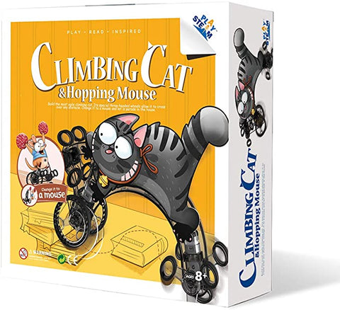 PlaySTEAM Climbing Cat & Hopping Mouse