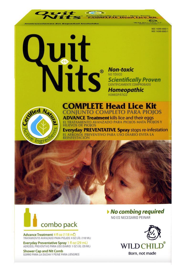 Wild Child Quit Nits The Complete Head Lice Kit