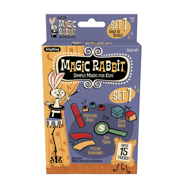 Schylling Magic Rabbit Magic Tricks Sets