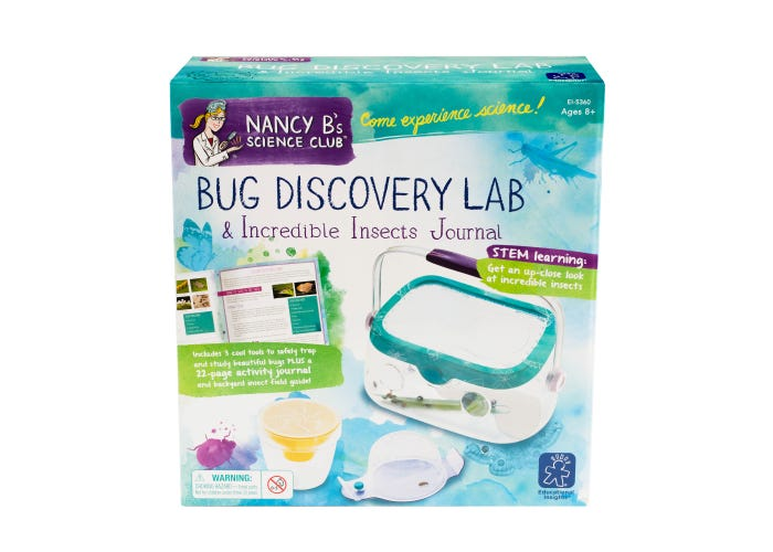 Educational Insights Nancy B's Bug Discovery Lab & Incredible Insects Journal