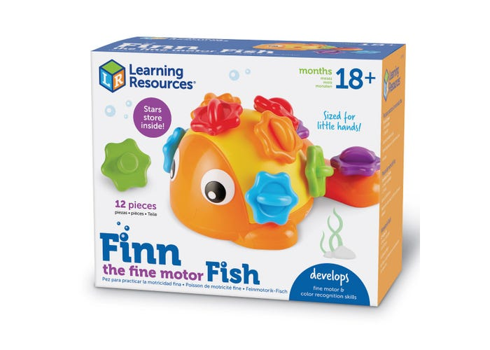Learning Resources Finn the Fine Motor Fish
