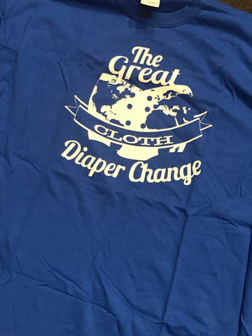 Great Cloth Diaper Change Advocacy T-Shirt