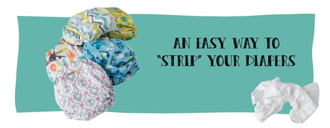 Cloth Diaper Stripping Service