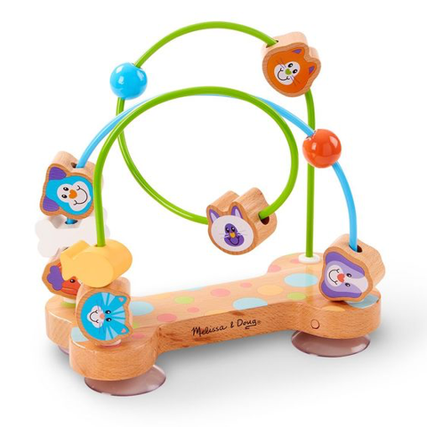 Melissa and Doug First Play Pets Wooden Bead Maze