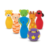 Melissa and Doug Bowling Friends Preschool Playset