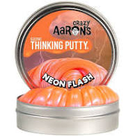 Crazy Aaron's Mega Neon Flash Thinking Putty