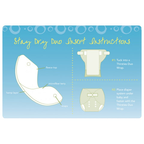 Thirsties Stay Dry Duo Insert