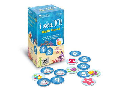 Learning Resources I Sea 10 Math Game