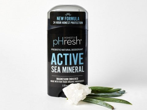 Honestly pHresh Active Sea Mineral Prebiotic Deodorant