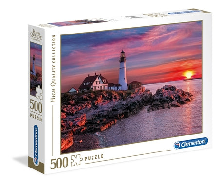 Clementoni Portland Head Light Puzzle - 500 pcs