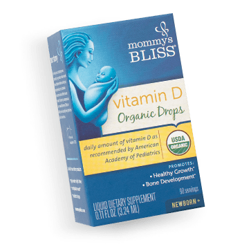 Mommy's Bliss Vitamin D Drops