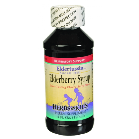 Herbs for Kids Eldertussin Elderberry Syrup 4oz