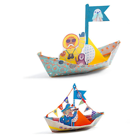DJECO Petit Gifts Origami Boats on the Water