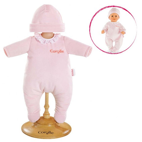Corolle Pink Pajamas for 12-inch Baby Doll