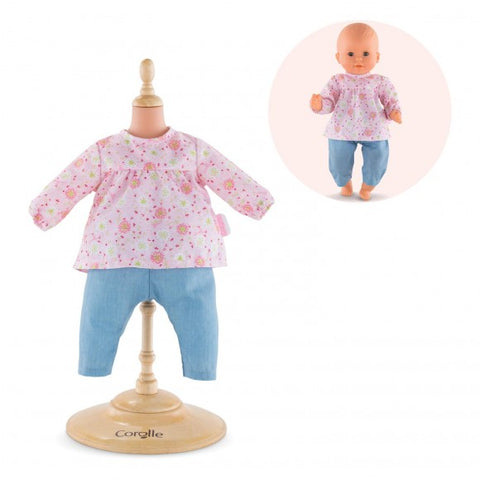 Corolle Blouse & Pants for 12-inch Baby Doll