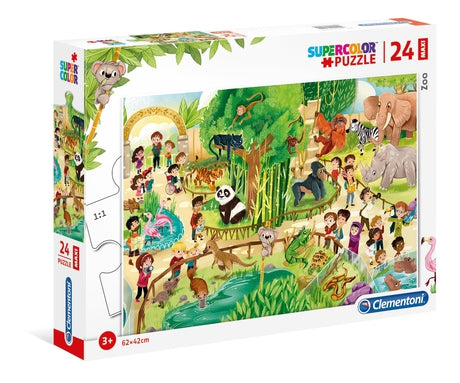 Clementoni Zoo - 104 pcs - Supercolor Puzzle
