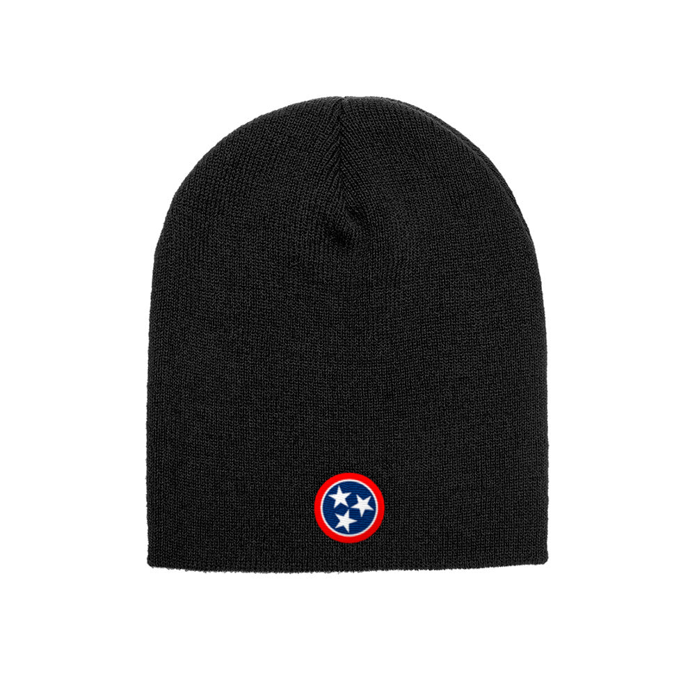 636f22bb0f8 Nashville Tennessee State Flag Yupoong Adult Knit Beanie 1500