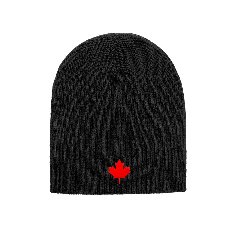 Canada Maple Leaf Flag Knit Canadian Beanie Skull Cap 1500