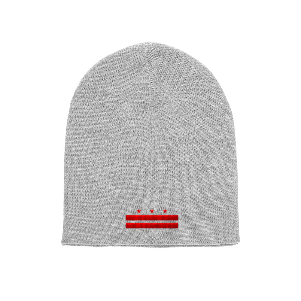 Washington D.C. Flag Yupoong Adult Knit Beanie 1500