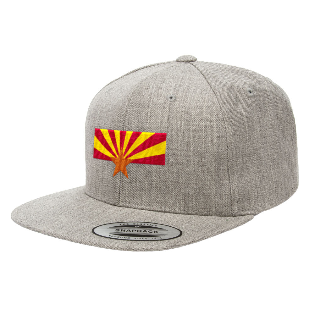 Arizona State Flag Snapback Hat 6089M