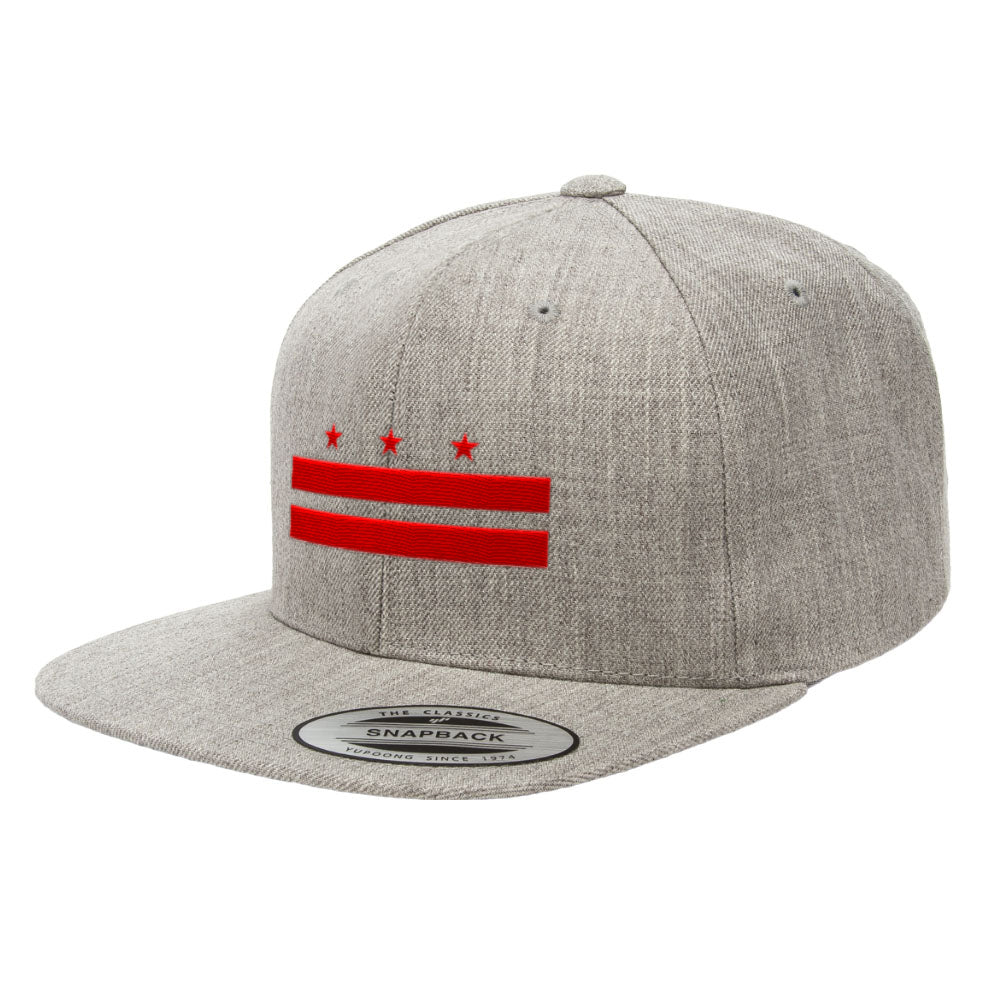 Washington D.C. Flag Premium Classic Snapback Hat 6089M