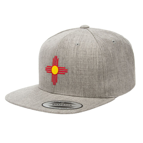 Official State Flag Of New Mexico Hat Tagged Flexfit Official
