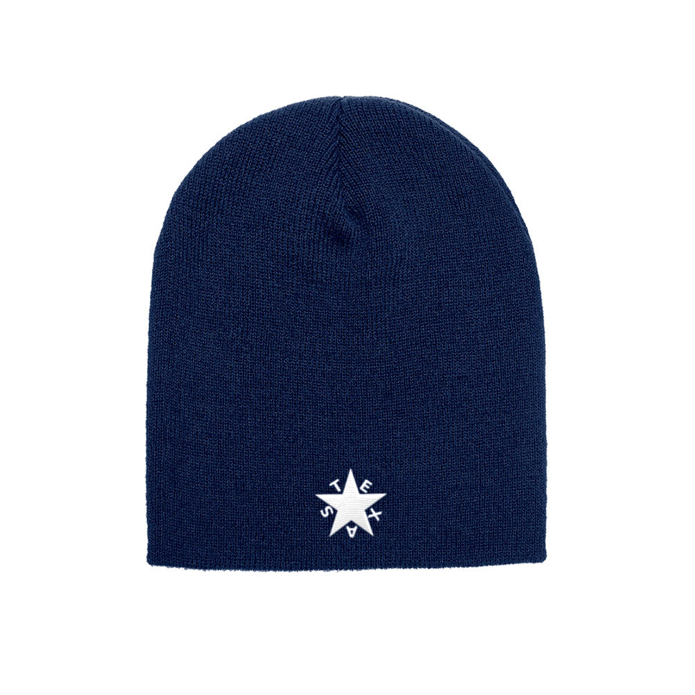 best sneakers 8acfb a65e7 ... low cost republic of texas state zavala star flag yupoong adult knit  beanie 150 official flag