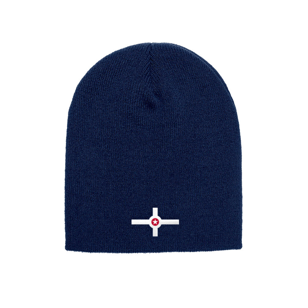 a151a2416fe Indianapolis City Flag Yupoong Adult Knit Beanie Skull Cap Indiana Indy 1500