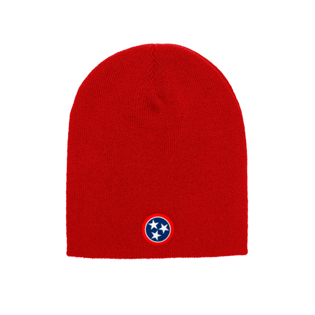 Nashville Tennessee State Flag Yupoong Adult Knit Beanie 1500