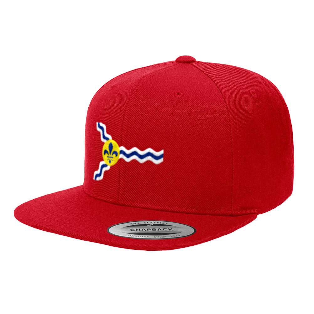 St. Louis Official Flag Premium Classic Snapback Hat Missouri 6089M