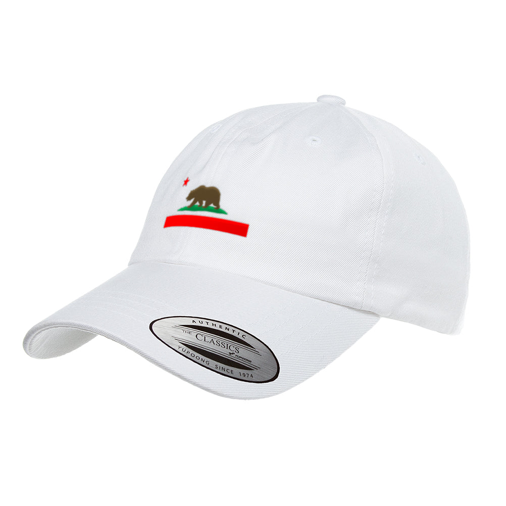 California Republic State Flag Dad Hat 6245CM